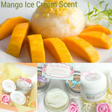 Mango Ice Cream Scent - Body Butter - Hand Cream - Foot Cream | Fairy Lilly
