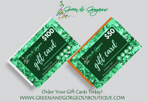 Gift Cards Marketing Flyer