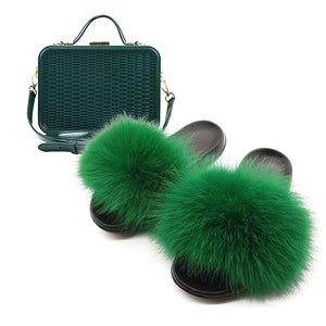Fabulous Furry Fur Summer Slides Collection