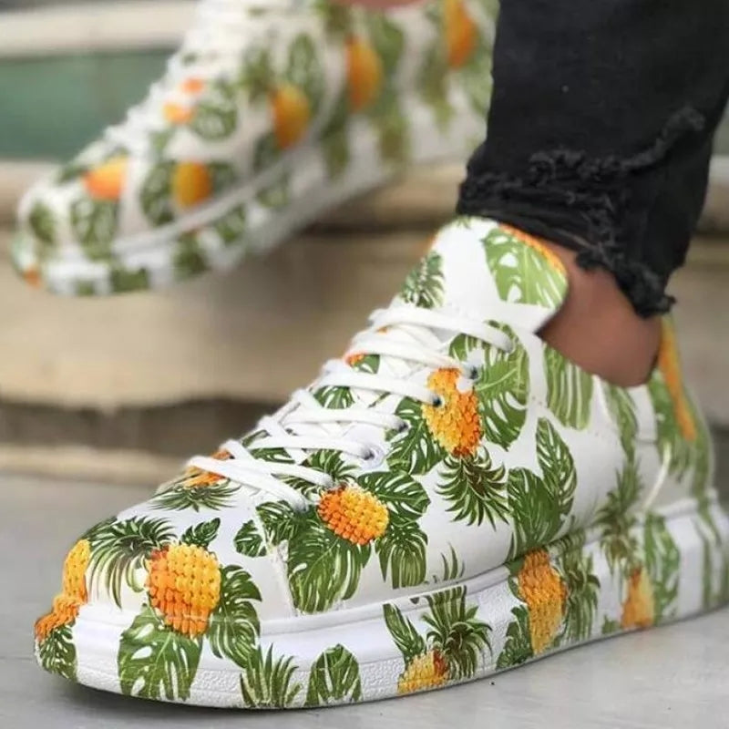 Pineapple Sky Sneakers 1