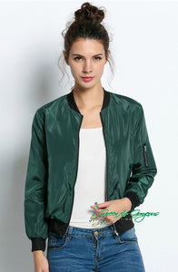 Green Pilot Bomber Jacket