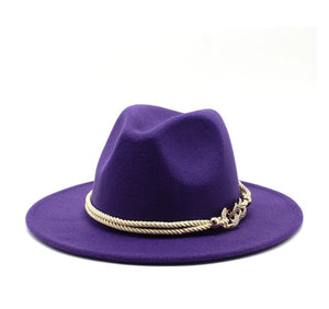 "New Fall Collection | ""Bedazzled"" Purple Fedora Hat"
