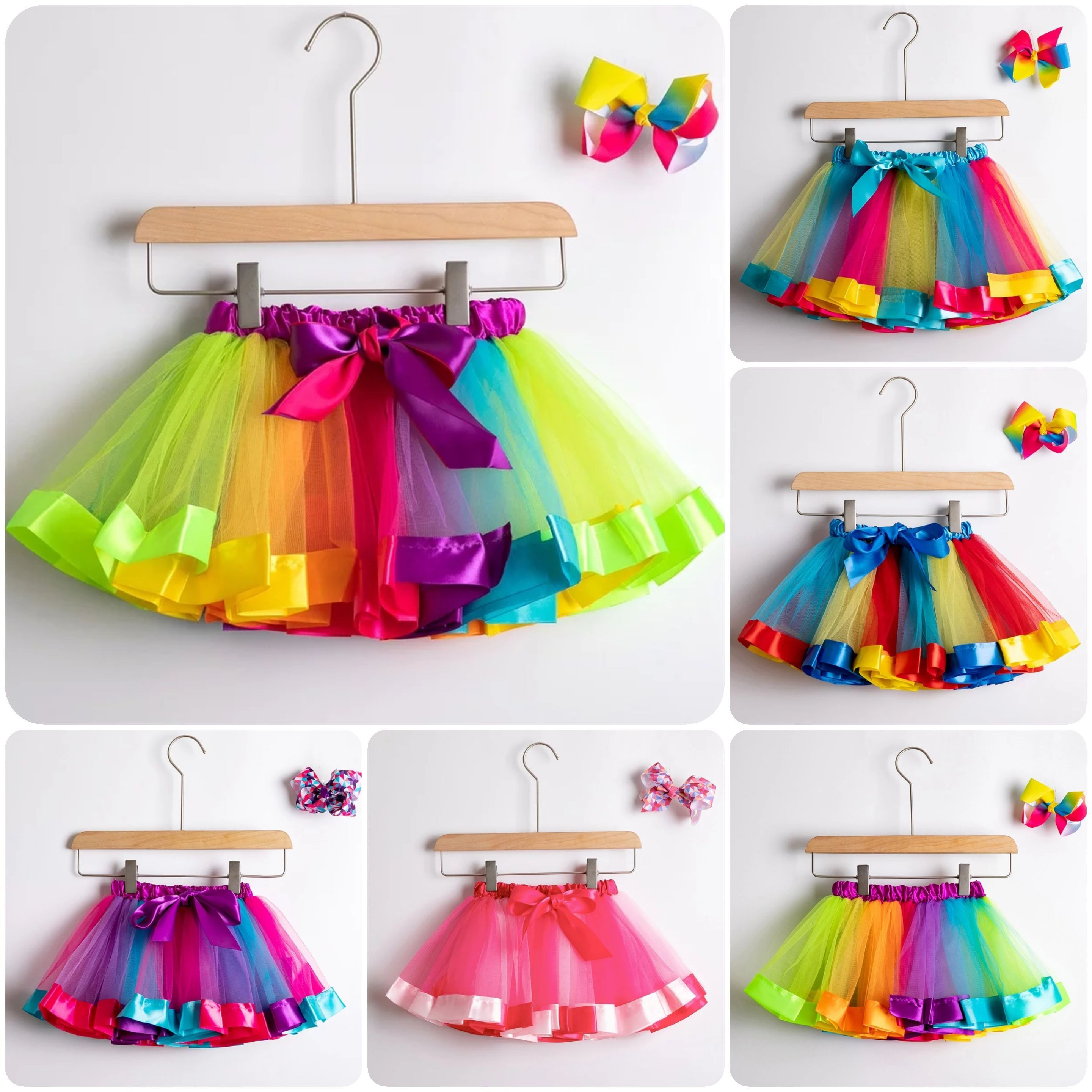 Luna's TuTu Collection | Baby Blue Ribbon TuTu Set
