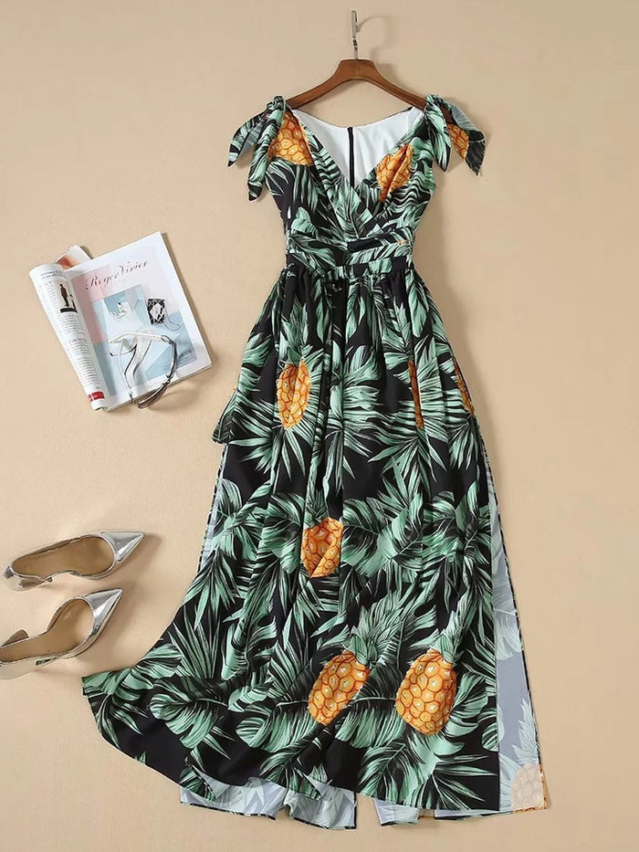 Pineapple Sky Dress 13
