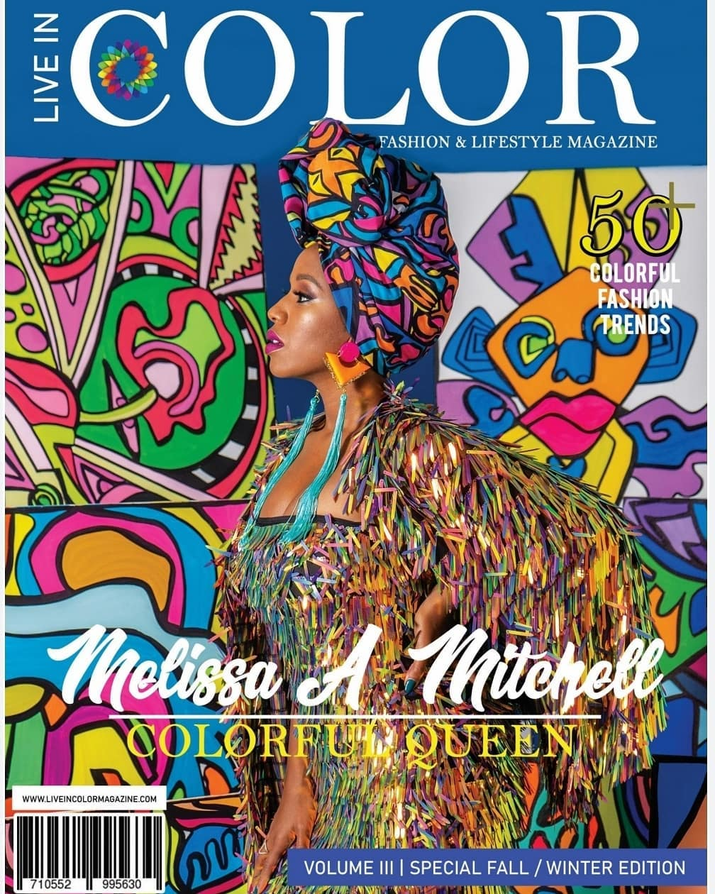 Live In Color Fashion & Lifestyle Magazine -  'Colorful Queens' Special Edition