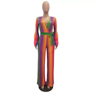 Green & Gorgeous Rainbow Collection Women's Jumpsuit