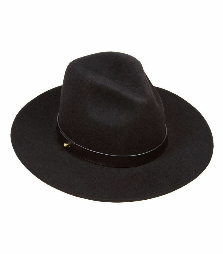 New Fall Collection | Classic Black Fedora Hat