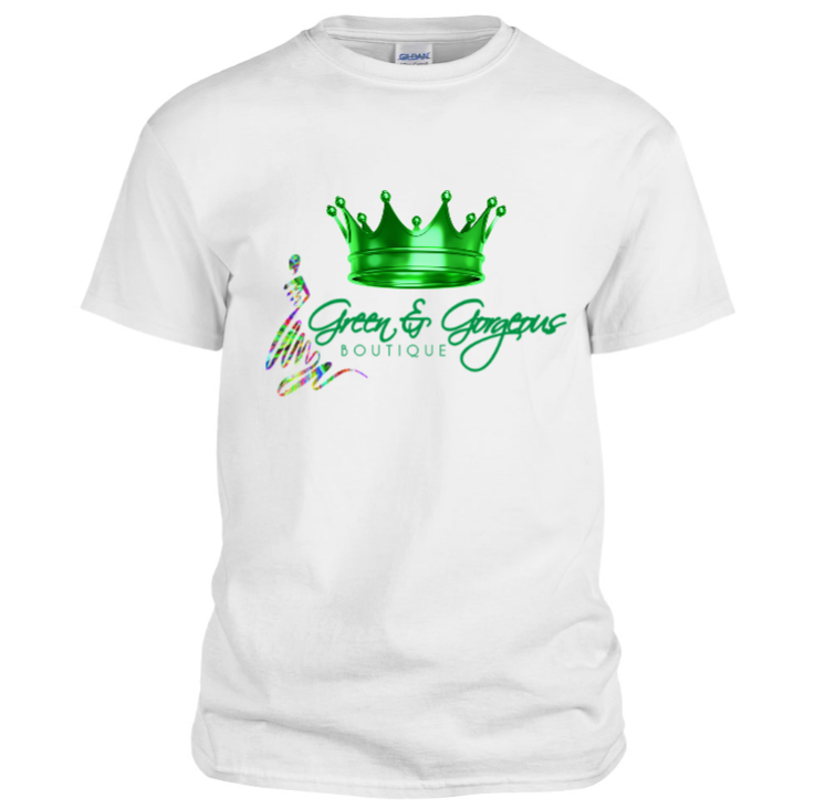 GREEN CROWN T-SHIRT