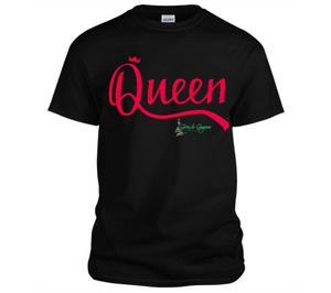 Green QUEEN T-Shirt | Queen (Red)