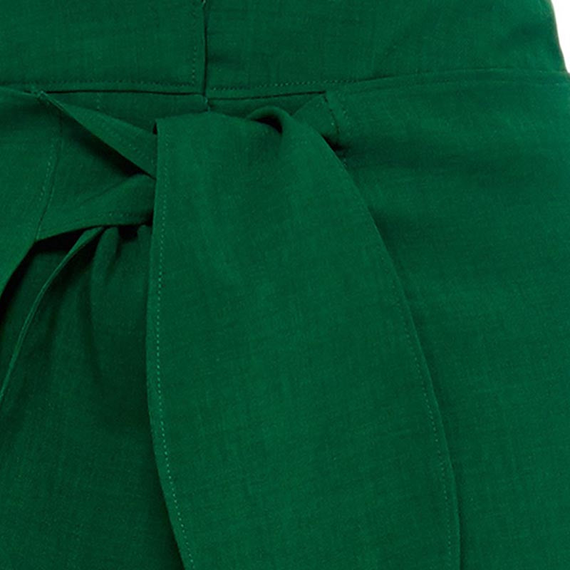 Green Casual Trousers