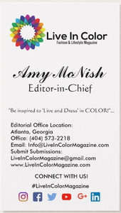 Live In Color Magazine - 2018 Advertisement | Sponsors