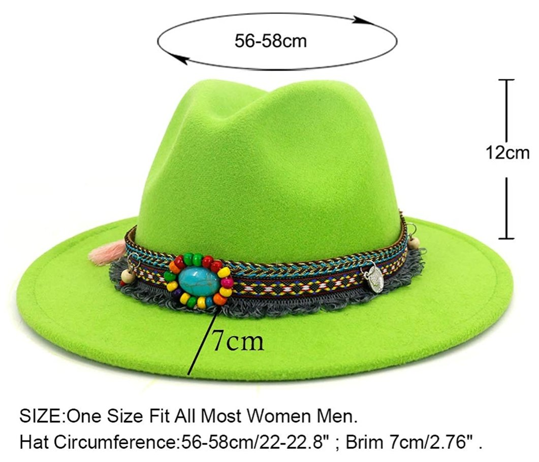 New Fall Collection | Apple Green Fedora Hat