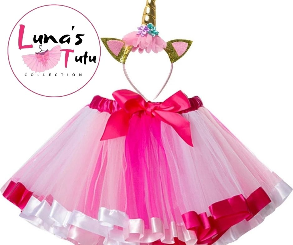 Luna's TuTu Collection | Light Pink Ribbon TuTu Set