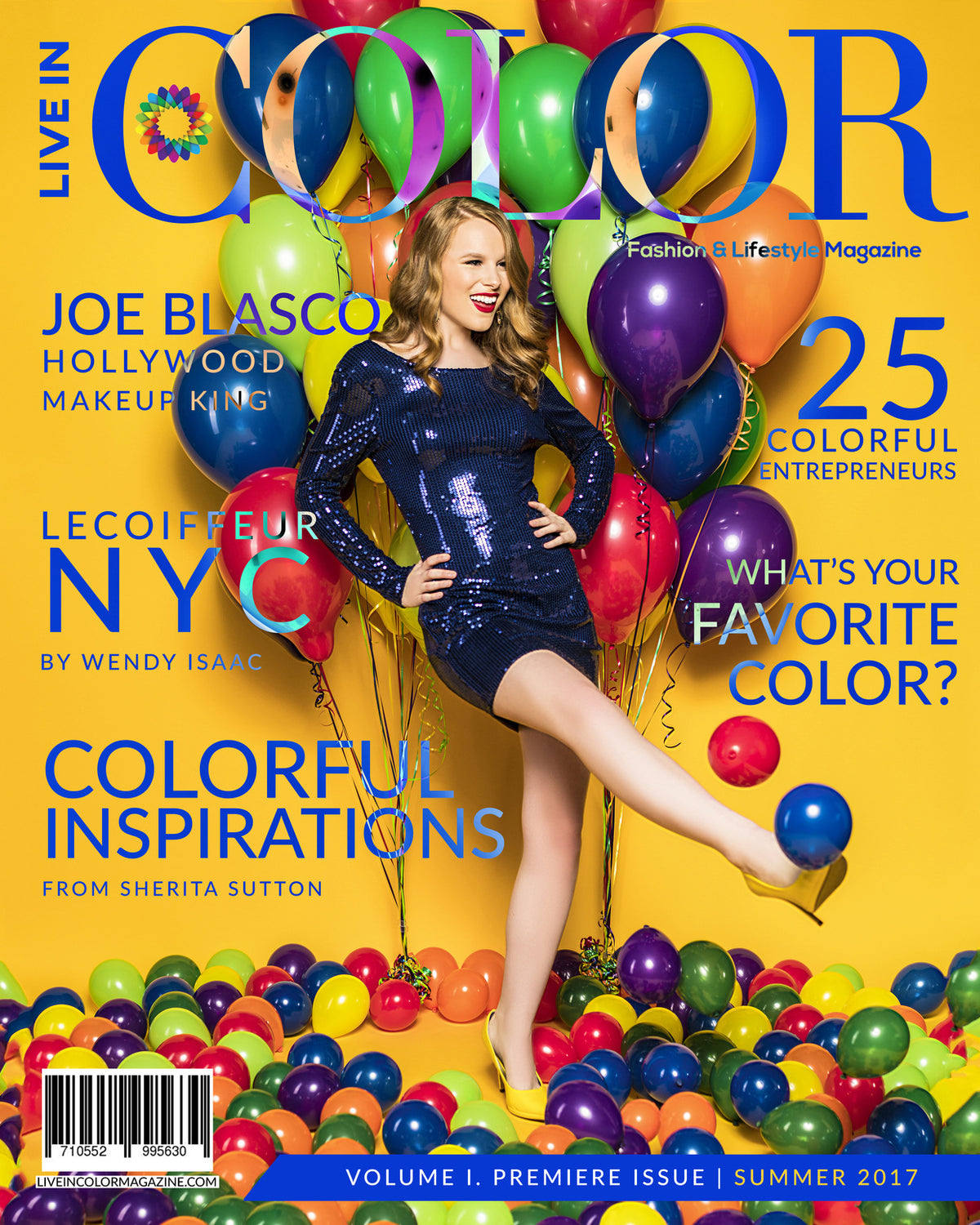 Live In Color Magazine