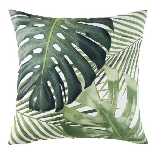 New Home Décor Collection - Signature Tropical Light l Green Palm Leaves Pillows