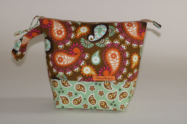 Project Bag - Vintage Paisley