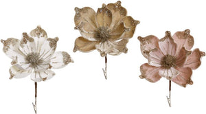 Sparkle Magnolia, Assortment of 3 - 7 x 9 Inches