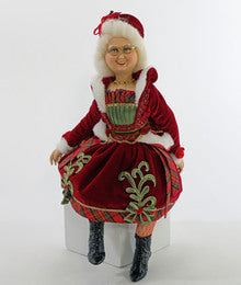 Mrs Claus Doll-18 Inch