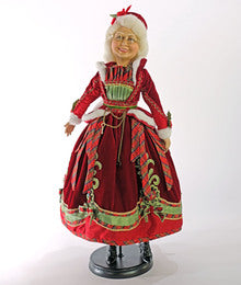 Mrs Claus Doll-24 Inch
