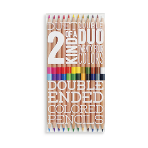 2 of a kind colored pencils