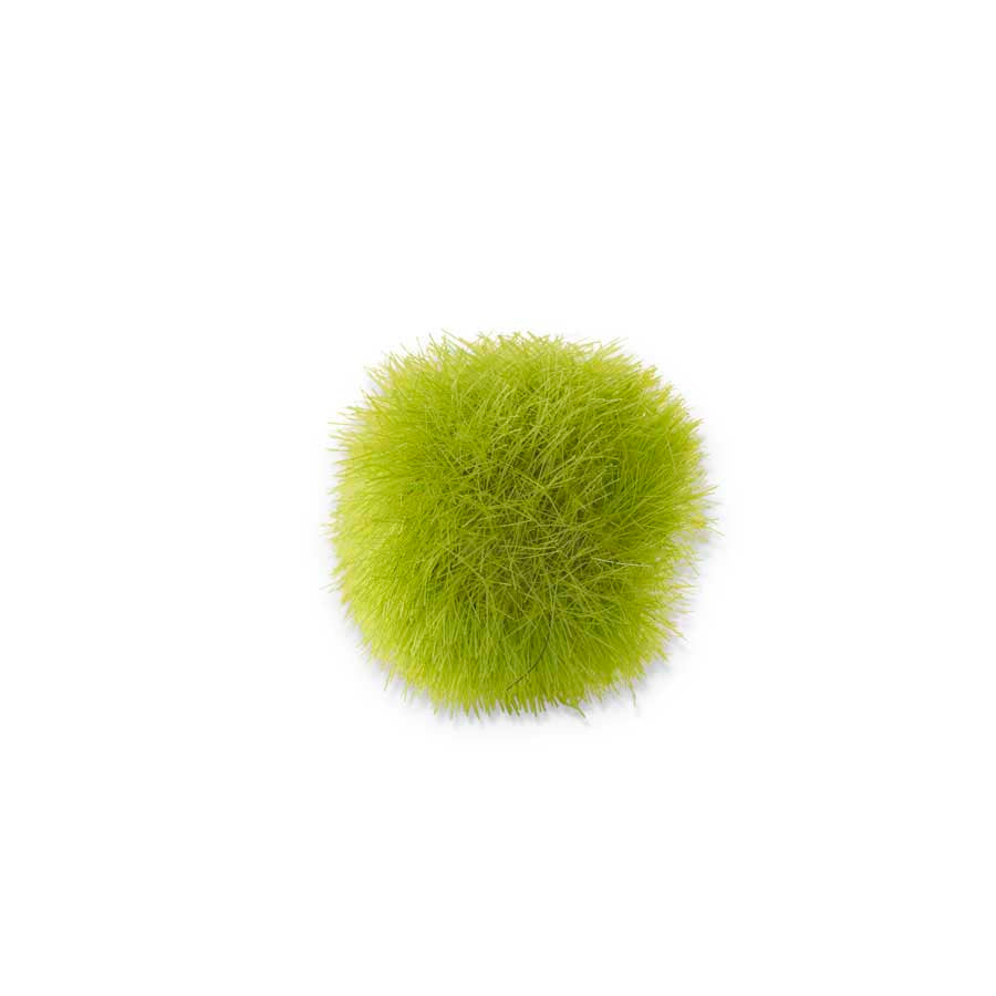 Bag of 12 1.75 Inch Fuzzy Moss Balls