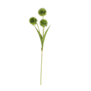26 Inch Green Ball Flower Stem
