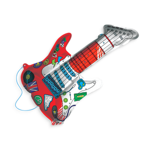 3d colorables - rockin' guitar