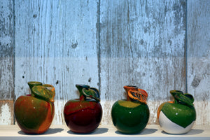 Small Ceramic Apple