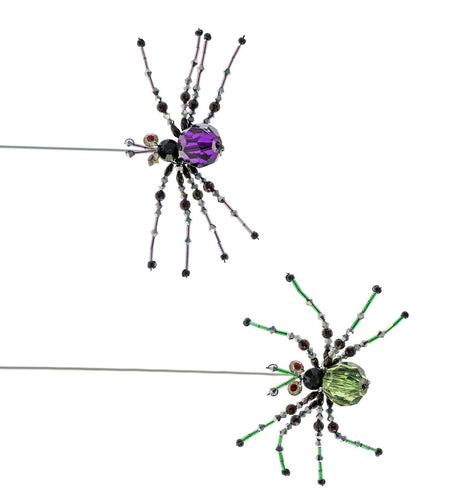 Brunhilda Jewel Spider Clips 2A