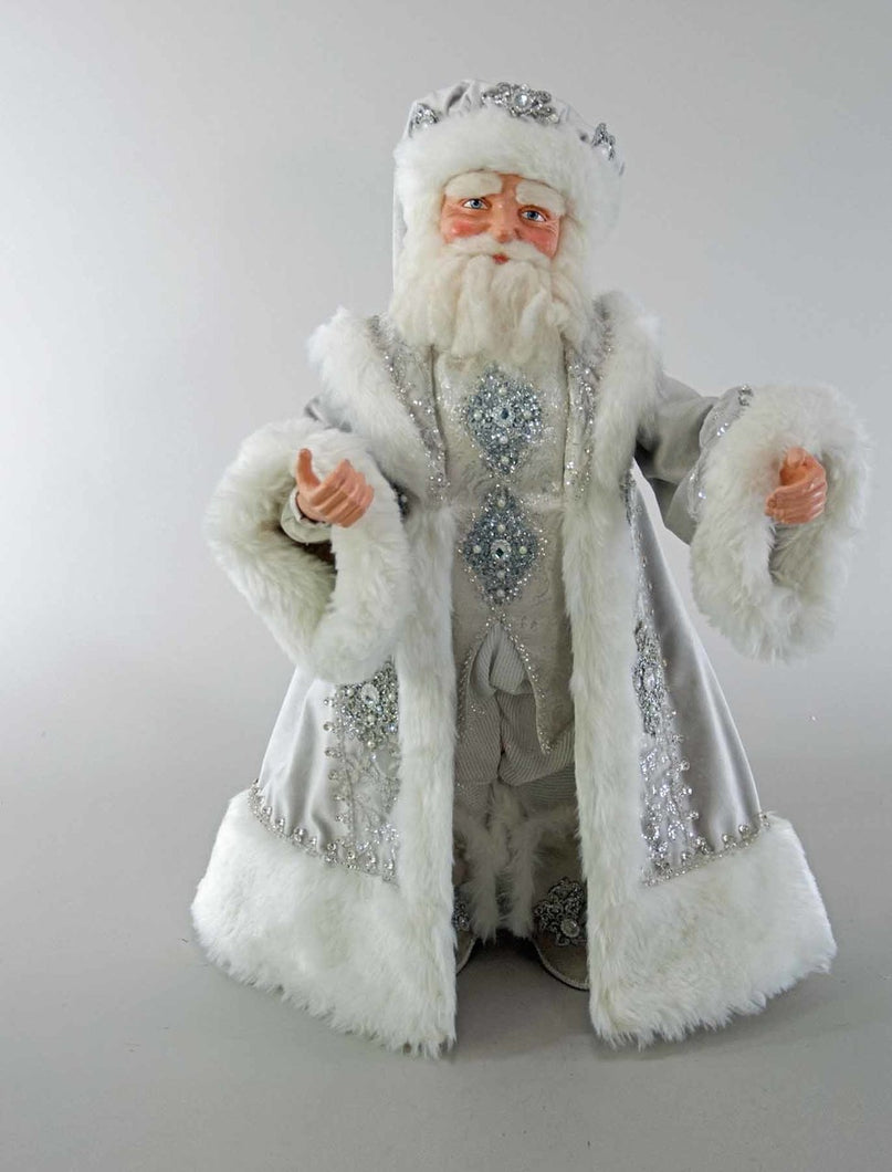 Winter Wonderland Santa Doll-24