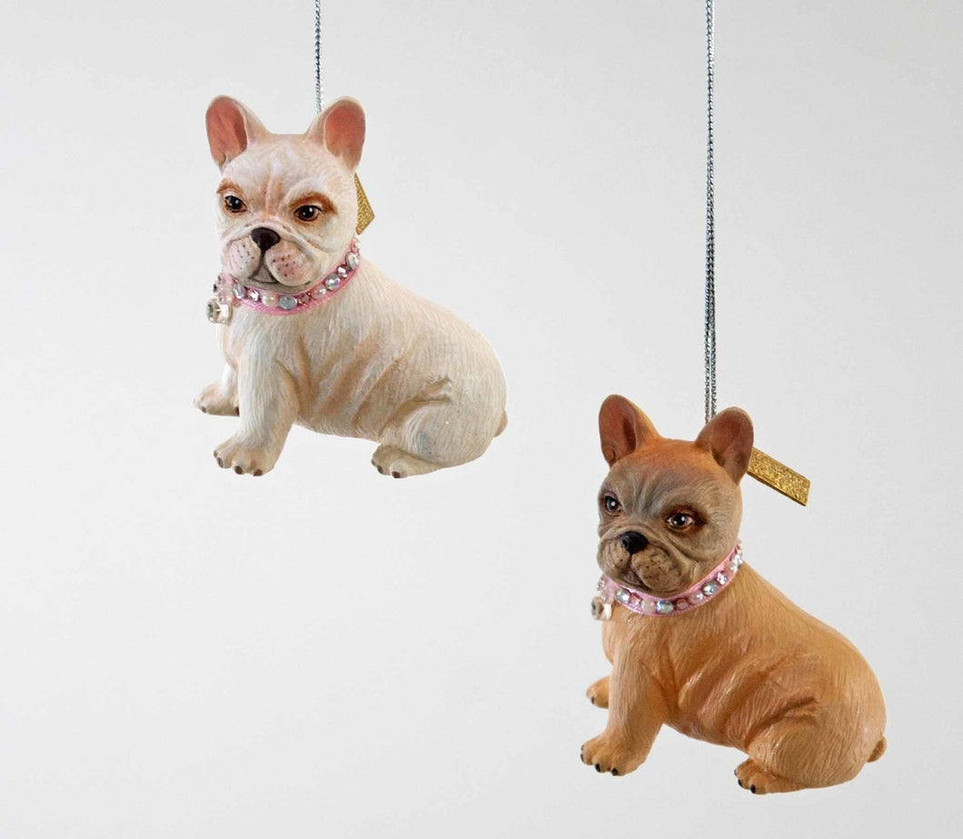 French Bull Dog Orn 2A