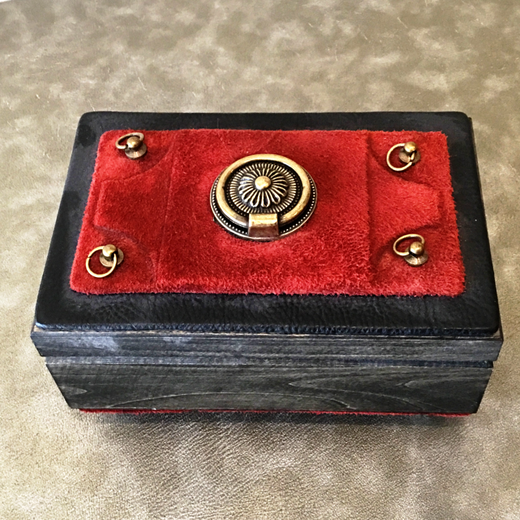 Decorative Wooden Box with Lid