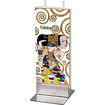 Klimt - Tree of Life - Woman Candle