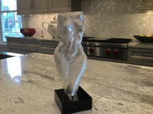 Hand made glass Woman - Frosted Finish
