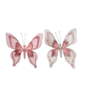 pes fur butterfly o clip 2clas
