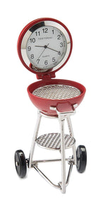 Grill Clock Red