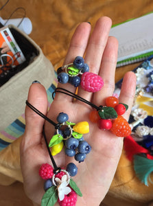 Hand Made Berrie Necklace
