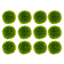 Fuzzy Moss Balls Bag of 12 2.5""
