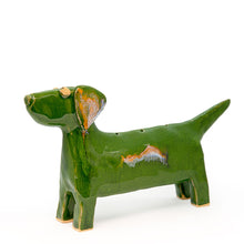 Ceramic dog incense burner