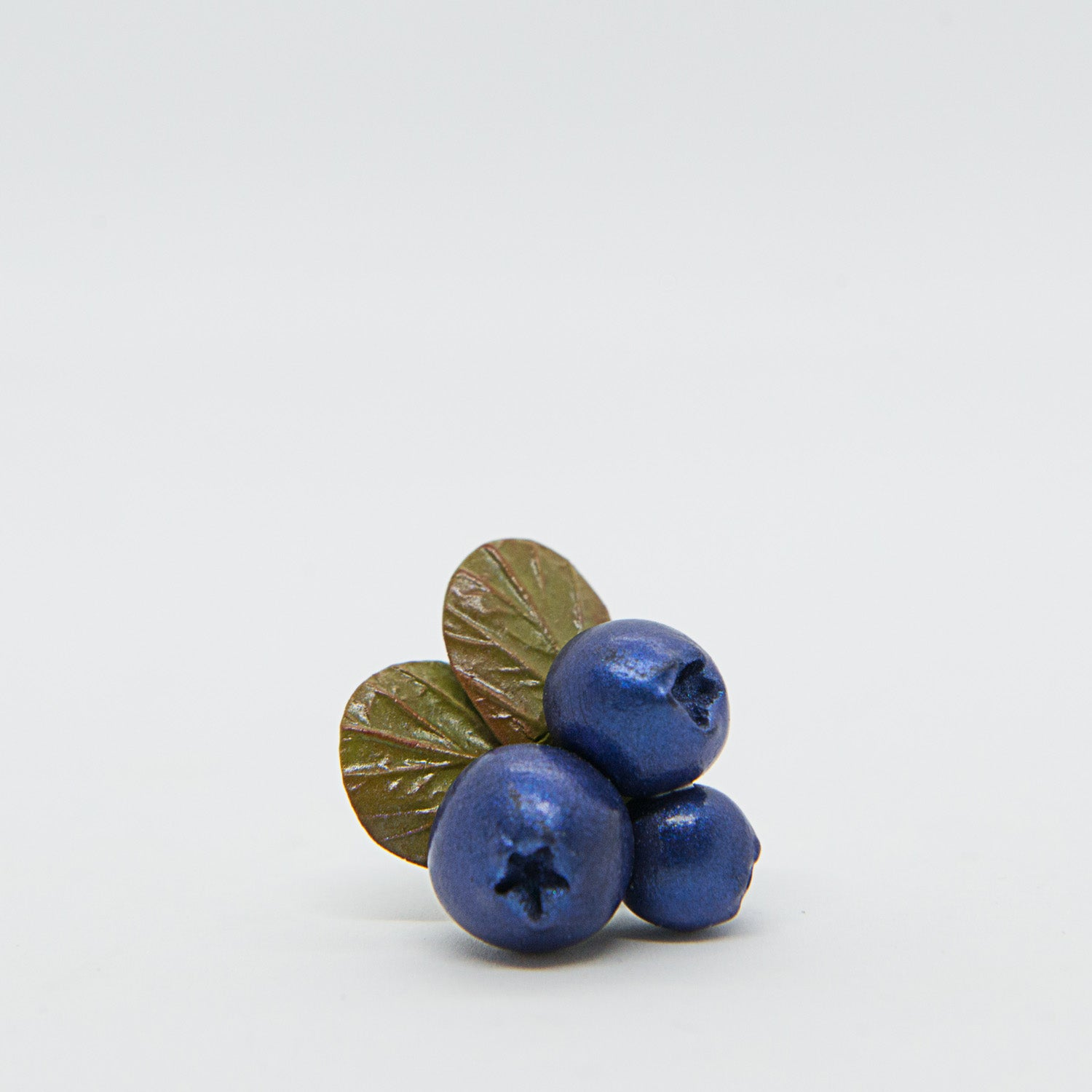 Pin with Blueberries
