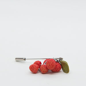 Pin with Wild Strawberries