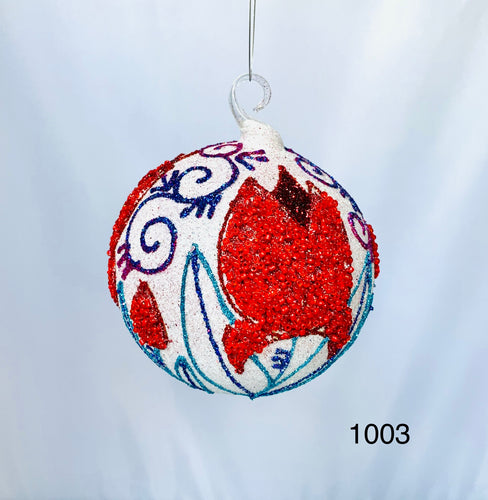 Hand painted Christmas ornaments 1003
