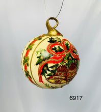 Hand painted Christmas ornaments 6917