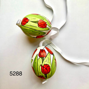 Peter's Hand Painted Egg from Austria 5288