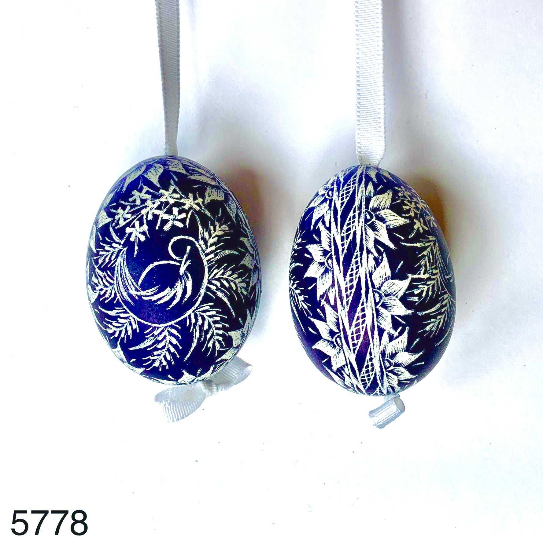Peter's Hand Painted Egg from Austria 5778
