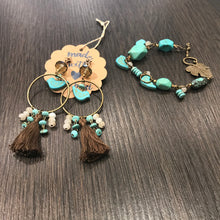 Hand made Set with Turquoise