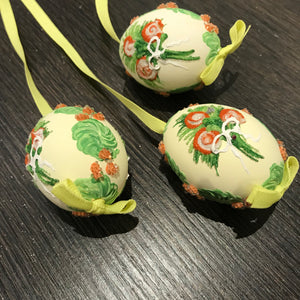 Hand Painted Egg from Austria 5804