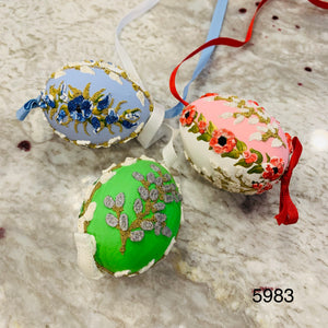 Peter's Hand Painted Egg from Austria 5983