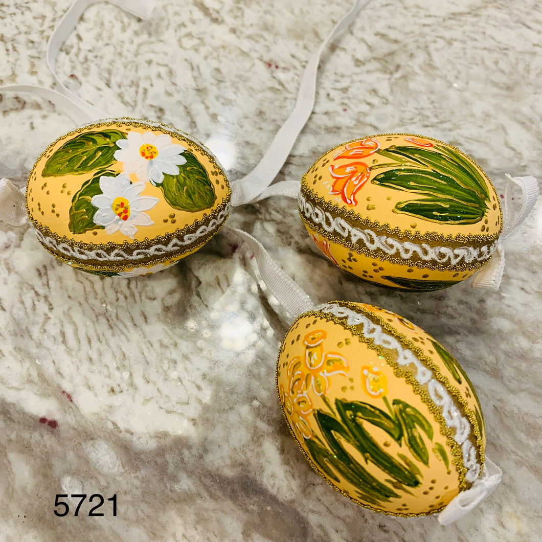 Peter's Hand Painted Egg from Austria 5721