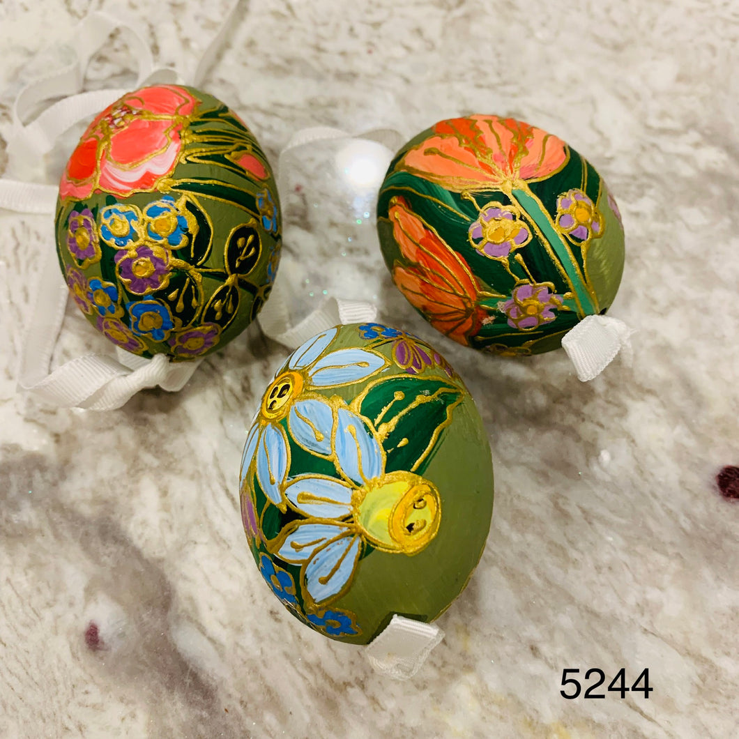 Peter's Hand Painted Egg from Austria 5244